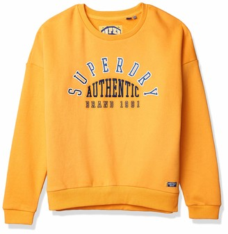Superdry Women's Urban Street Applique Crew Sweater