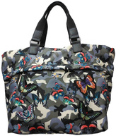 Sondra Roberts Butterfly Camo Tote Bag
