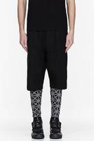 Gareth Pugh Black Triangle print leggings