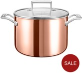 KitchenAid 3-ply Copper Cookware Collection – 7.5-litre Stockpot With Lid