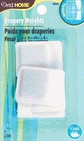 Dritz 8920 Drapery Lead Square Covered Weights