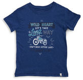 Lucky Brand Boys 8-20 Little Boy's Wild Heart Text Graphic Tee