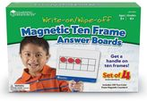 Learning Resources Magnetic Ten-Frame Answer Boards Set
