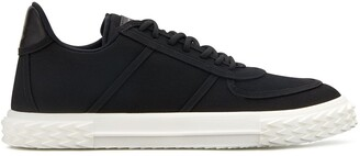 Giuseppe Zanotti Low Top Embellished Sole Sneakers