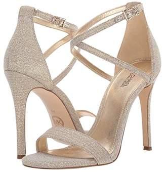 MICHAEL Michael Kors Antonia Sandal (Gunmetal) Women's Shoes