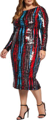 Dress the Population Emery Sequin Body-Con Dress