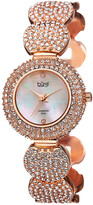 Burgi Women's Diamond Crystal Watch
