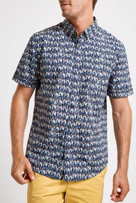 Sportscraft Dudley Short Sleeve Print Shirt