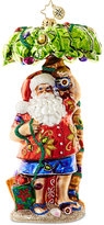 Christopher Radko Clause in Paradise Mid-Year Collectible Ornament