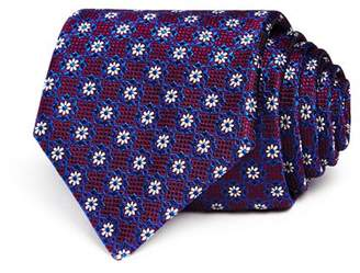 Canali Micro Flower Neat Classic Tie
