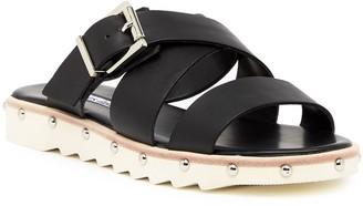 Charles David Speedy Buckle Leather Sandal
