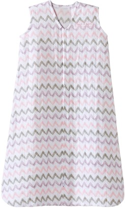 Halo Baby Girl SleepSack Chevron Muslin Wearable Blanket