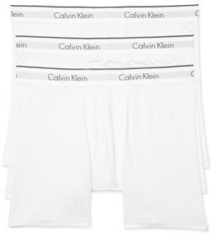 Calvin Klein Men's Microfiber Stretch Boxer Brief 3-Pack