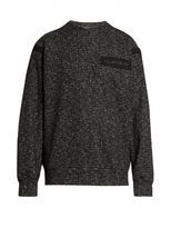 Raey Cotton-tape wool and cotton-blend sweatshirt