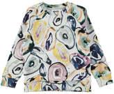Molo Marina Mineral Stones Printed Sweatshirt, Size 4-14