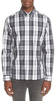 Saturdays Nyc Plaid Sport Shirt