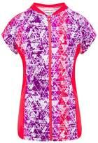 Cupid Girl Bermuda Short Sleeve Zip Suntop