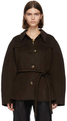 Nanushka Brown Adut Jacket