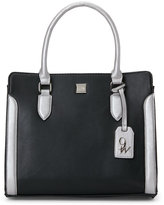 Nine West Black & Silver Me Time Satchel