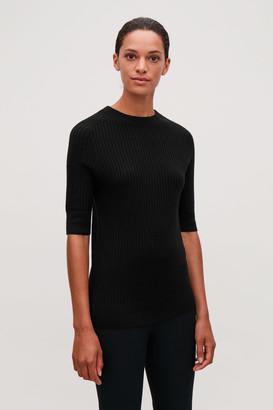 Cos Short-Sleeved Merino Top