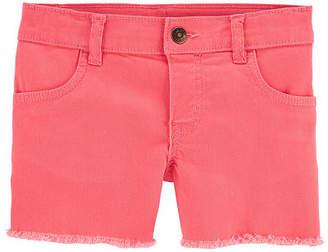 Carter's Girls Mid Rise Soft Short - Little/Big Kid, 4 , Pink