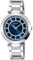 Lorus Womens White Dress Bracelet Watch