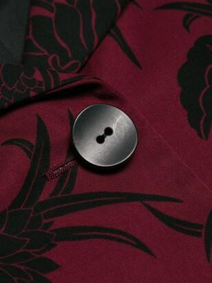 Prada Pre Owned Floral Print Jacket