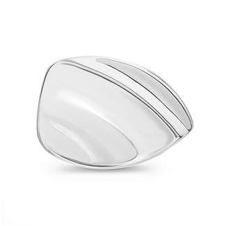Bliss Women's Rings Silver - Sterling Silver Wave Ring