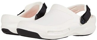 Crocs Work Bistro Pro LiteRidetm Clog (White) Clog/Mule Shoes