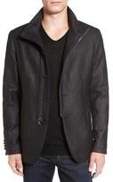 John Varvatos Men's Woven Cotton Jacket
