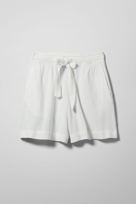 Weekday Hazel Shorts - White