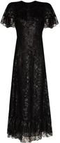 The Vampire's Wife Bombette metallic lace dress