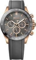 HUGO BOSS Men's Ikon 1513342 Rubber Quartz Watch