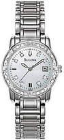 Bulova Ladies 24 Diamond Case & Bracelet Watchw