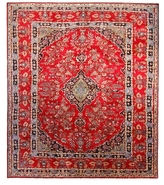 """F.J. Kashanian Persia Hand-Knotted Rug (9'7""""x11'2"""")"""