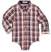 Hartstrings Baby's Plaid Cotton Bodysuit