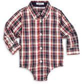 Hartstrings Baby's Plaid Cotton Bodysuit