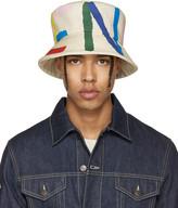 Fendi Off-white Logo Bucket Hat
