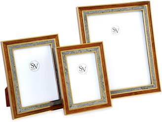 "SV Casa Madagascar Double Picture Frame, 5"" x 7"""