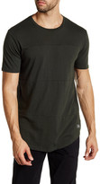 Globe Argo Topstitch Shirttail Tee