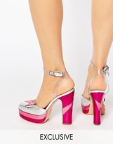 Terry De Havilland Direction Pink Heeled Shoes