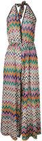 Missoni zigzag jumpsuit - women - Polyester/Cupro/Viscose - 38