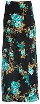 Gravity Threads Women's Fashion Designer Span Maxi Skirt