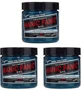 Manic Panic Semi-Permament Haircolor 4oz Jar (3 Pack)