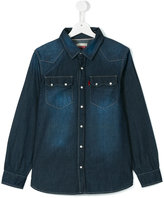 Levi's Kids - Teen faded denim shirt - kids - Cotton - 14 yrs