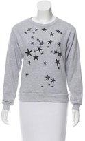 Tibi Star Print Sweatshirt