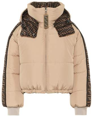 Fendi Reversible printed down jacket