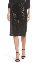 Halogen Women's Sequin Pencil Skirt