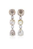 Bayco Colored Rose-Cut Diamond Earrings