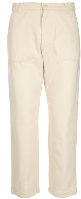 Woolrich Cropped Side Pockets Jeans
